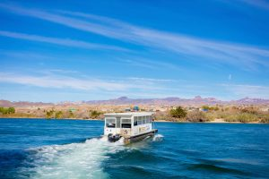 Relax and network on the Colorado River with the iCruise. There will be a Friday and Saturday sunset cruise, also a Sunday brunch cruise. title=iCruise
